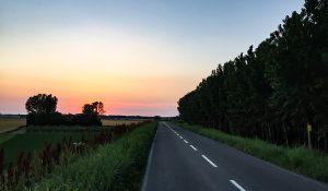 La strada lungo il Po
